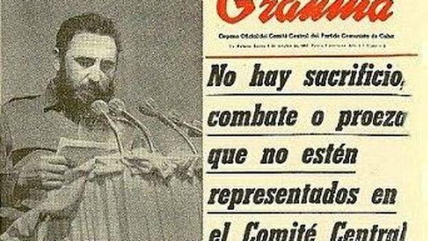 El 3 de octubre de 1965 se adoptó el actual nombre de Partido Comunista de Cuba y solo entonces se presentó su primer Comité Central. (Archivo)