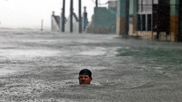 Paso del huracán Irma en Cuba. (EFE)