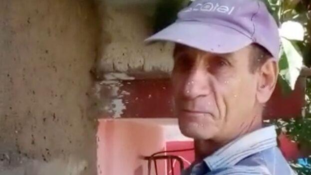 Pedro Albert Sánchez es profesor de Física y no se considera opositor, aunque reivindica la libertad de expresión y prensa. (Captura)