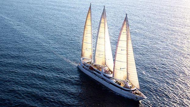 El velero francés 'Le Ponant' partirá el próximo 10 de marzo desde Estados Unidos y tocará tierra en cinco puertos de Cuba. (NYT)