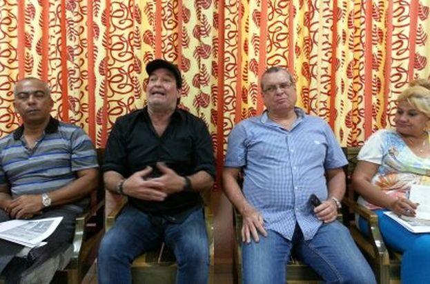 Principales autoridades del Festival de Cine de Gibara. (14ymedio)