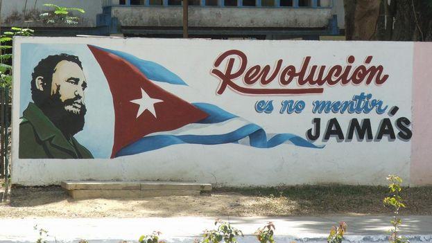 Propaganda revolucionaria en La Habana. (Wikicommons)