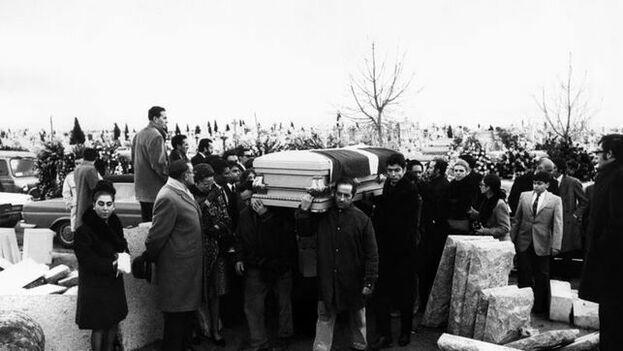 Los restos mortales del expresidente dominicano, Rafael Leónidas Trujillo, fueron enterrados en el cementerio de El Pardo de Madrid, tras su traslado desde París, el 19 de noviembre de 1970. (EFE)