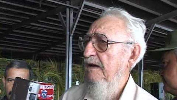 Ramón Castro Ruz falleció este martes en La Habana. (Youtube)