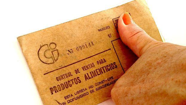 Ration book in Cuba. (14ymedio)