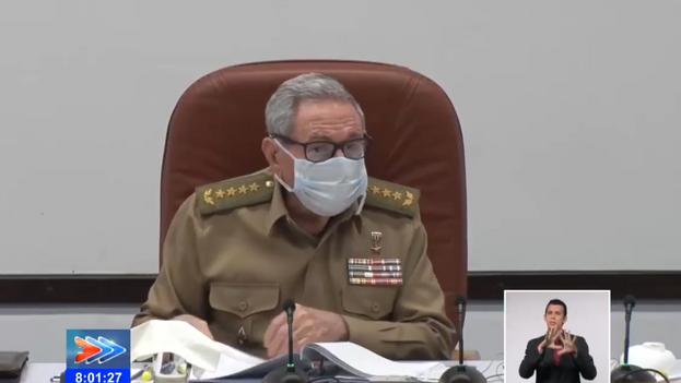 Raúl Castro es uno de los pocos protagonistas de los sucesos de 1953 que queda aún con vida. (Captura)