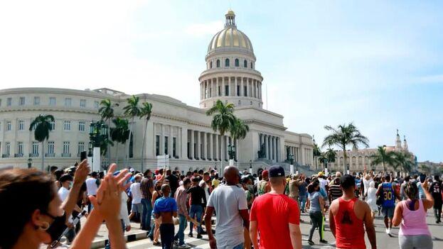 Los firmantes han enviado la petición a Reinaldo García Zapata, gobernador de La Habana, y Alexis Acosta Silva, intendente del Consejo de Administración de La Habana Vieja. (EFE)