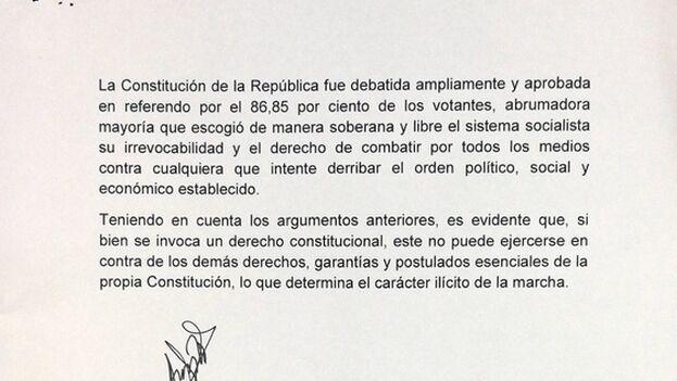 Respuesta oficial dirigida al dramaturgo Yunior García Aguilera. (Cubadebate)