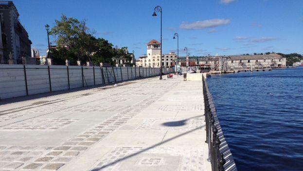 Revitalización del paseo marítimo en la zona de la Bahía de La Habana (14ymedio)