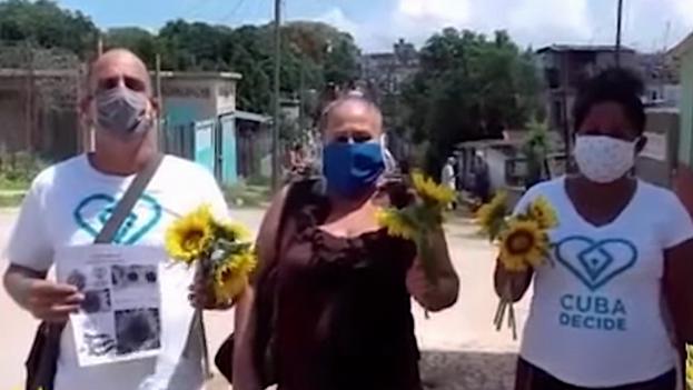 Revolución de los Girasoles, convocada por distintas organizaciones de la oposición el pasado 8 de septiembre. (Captura)