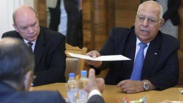 Ricardo Cabrisas, viceprimer ministro de Cuba, durante la renegociacion de la deuda. (Cubadebate)