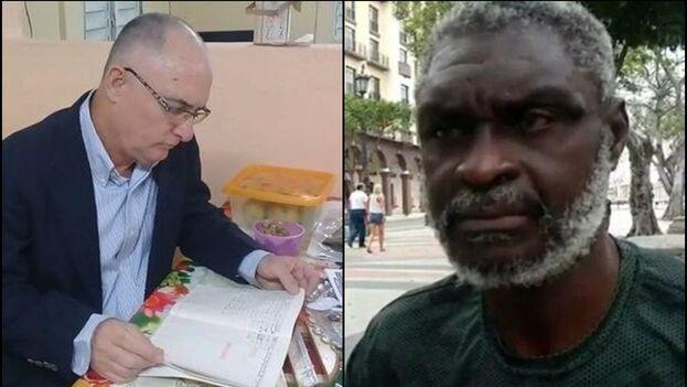 El periodista Roberto Quiñones y el activista Silverio Portal son dos de los presos políticos cuya situación denuncian distintas organizaciones. (Collage)