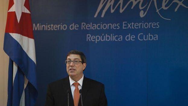 Bruno Rodríguez Parrilla, ministro de Relaciones Exteriores de Cuba. (Minrex)