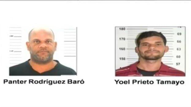 Rodríguez Baró, recibió una sanción de 15 años de privación de libertad, Prieto Tamayo de nueve y Pérez García de un año. (Captura)