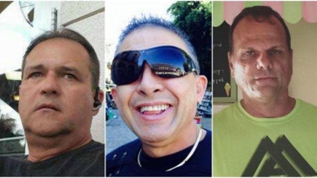 Rolando Fraga, de 60 años (izquierda), Osvaldo González, de 57 (centro), y su pareja Alberto Arias, de 53 (derecha), se encontraban entre las víctimas del suceso. (el Nuevo Herald)