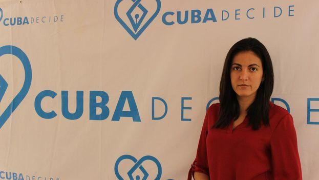 Rosa María Payá. (14ymedio)