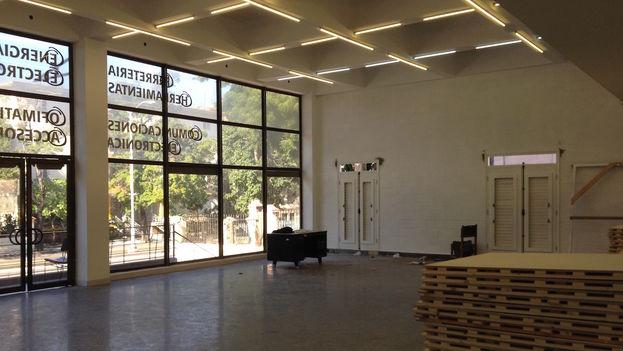 Salón de ensayos del nuevo local de la compañía de Carlos Acosta en La Habana. (14ymedio)