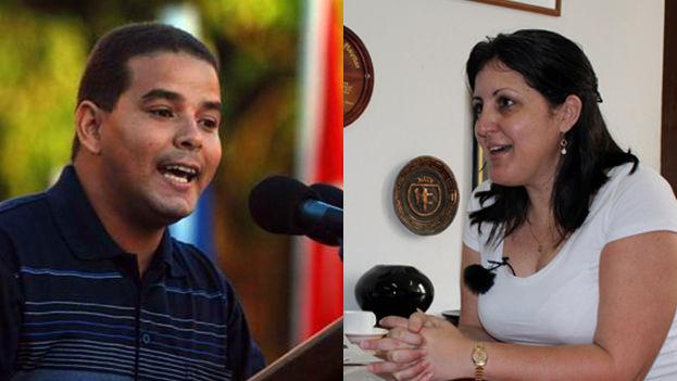 Yailin Orta Rivera, nueva directora de 'Granma' (Izq) y Yoerky Sánchez Cuéllar, nuevo director de 'Juventud Rebelde'. (CC)