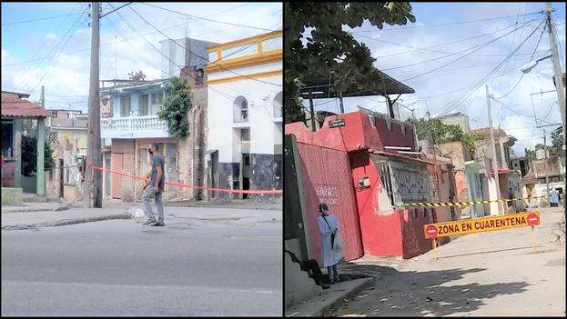 El rebrote pone a Santiago de Cuba a un paso de retroceder a la fase de transmisión autóctona limitada. (Collage)