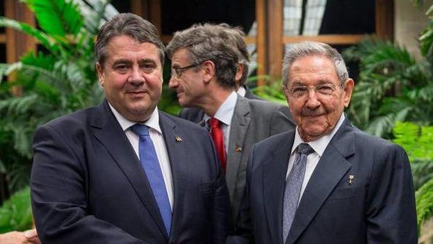 Sigmar Gabriel es el primer ministro alemán de Economía que viaja a Cuba en 15 años. (Maurice Weiss/EFE)