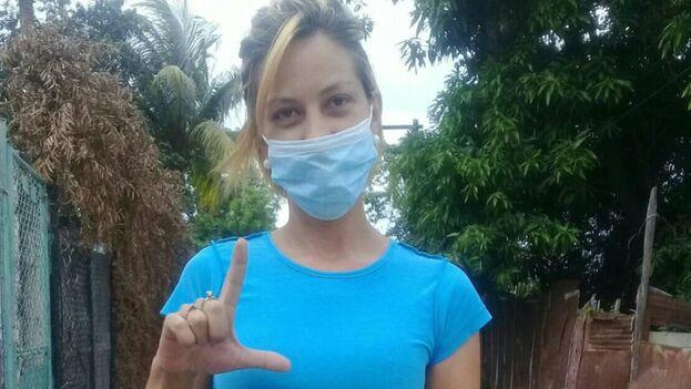 """Thais está irreconocible"", denunció este martes la madre de la activista, Odalis Benítez. (Facebook)"