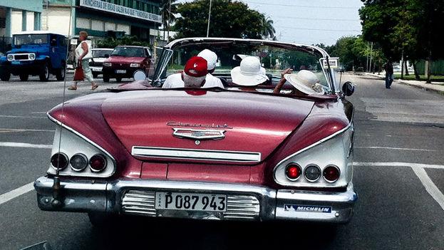 Turistas en La Habana. (14ymedio)