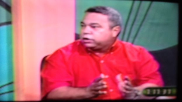 El secretario general de la Central de Trabajadores de Cuba, Ulises Guilarte de Nacimiento, en el programa Buenos Días.