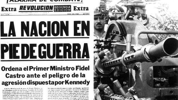 Estados Unidos descubrió el 15 de de octubre de 1962 que la URSS había instalado en Cuba 42 misiles con ojivas nucleares de alcance medio apuntando a su territorio. (Prensa oficial)
