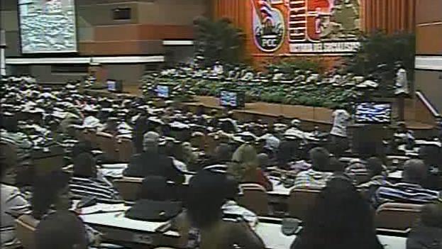 El VI Congreso del Partido Comunista de Cuba. (YouTube)