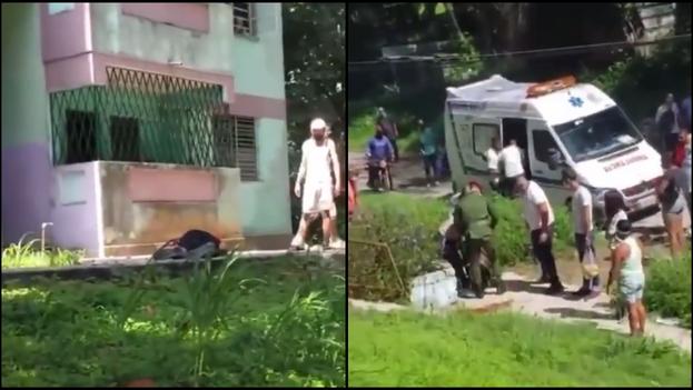 Los hechos ocurrieron en edificio multifamiliar de Víbora Park, en el municipio habanero de Arroyo Naranjo. (Collage)