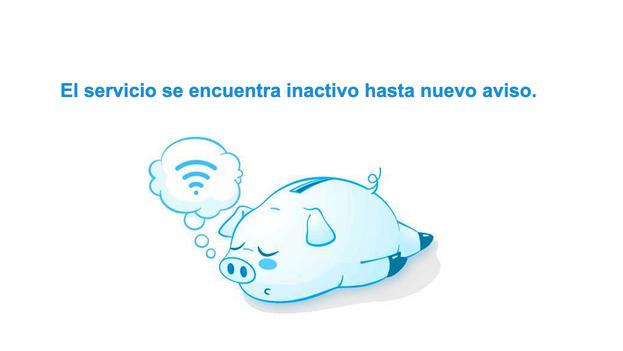 Vista de la página de Mercocaribe desde Cuba cuando se intenta acceder al portal. (Captura)