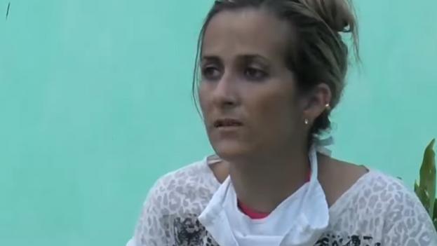 Yanet Bitón fue deportada a la Isla junto a 21 balseros más el pasado 14 de mayo. (Captura)