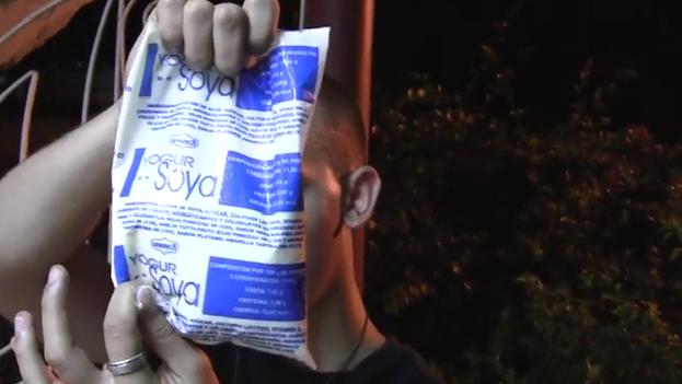 Yogur de soya. (YouTube)