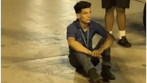 Yunier García, de 26 años, había declarado poco antes a medios locales que temía por su vida en caso de ser repatriado a Cuba. (Captura)