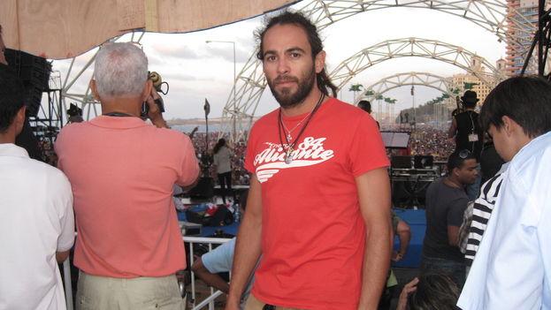 La vida de Yuris Gabir Garrote Rodríguez se torció cuando en 2015 fue condenado a diez años de prisión por llevar encima un cigarrillo con 0,38 gramos de marihuana. (14ymedio)(