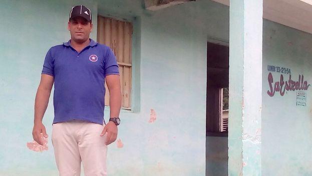 Yusniel Pupo Carralero el activista de San Juan y Martínez en Pinar del Río. (14ymedio)