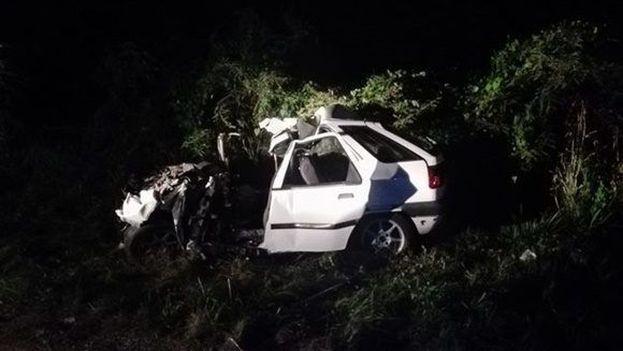 En el accidente perdieron la vida cinco adultos y una menor. (Abel Falcón Curí/CMHW)