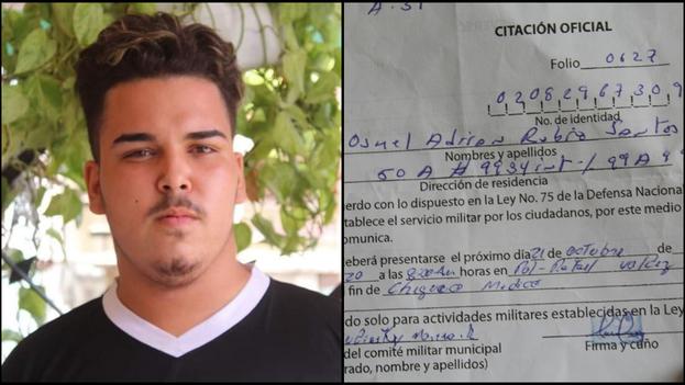 El activista Osmel Rubio Santos fue detenido por varias horas este miércoles. (Collage)