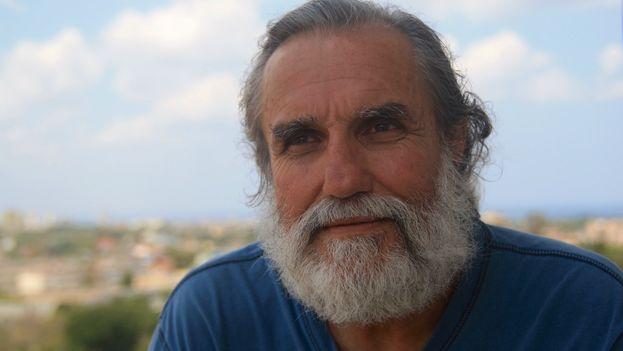 El activista y bloguero Agustín López Canino. (14ymedio)