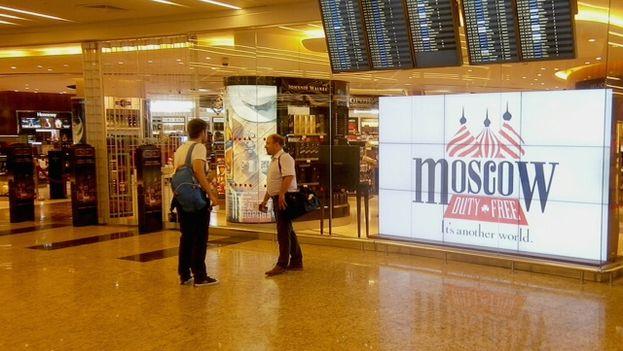 Aeropuerto de Moscú. (14ymedio)