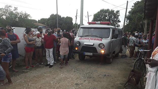 Hasta 17 personas se vieron involucradas en el suceso, de las que aún hay tres jóvenes hospitalizados. (Asamblea Municipal Poder Popular Mayarí)