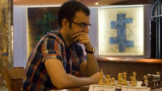 El ajedrecista Leinier Domínguez. (Luz Escobar)