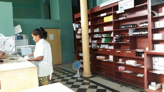 Los anaqueles de las farmacias cubanas viven problemas serios de abastecimiento desde hace al menos tres años. (14ymedio)