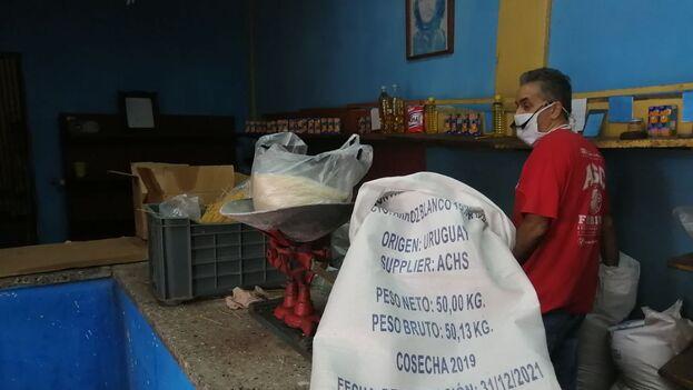 El arroz importado de Uruguay es el favorito de los cubanos. (14ymedio)