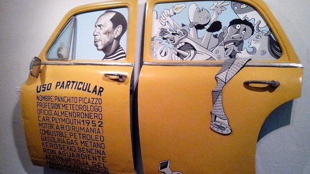 'Panchito Picazzo', en la Fábrica del Arte Cubano. (14ymedio)