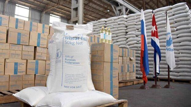 El nuevo donativo ruso fue recibido por las aurtoridades cubanas en La Habana. (Ministerio de Comercio Exterior)