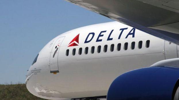 Un avión de la aerolínea estadounidense Delta. (EFE)