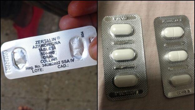 La obsesión por la azitromicina ha sido alimentada desde el propio oficialismo, que lo ha presentado como un antibiótico empleado en los protocolos de covid-19. (Collage)