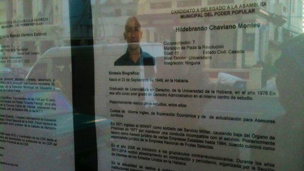 La biografía de Hildebrando Chaviano Montes. (Luz Escobar)