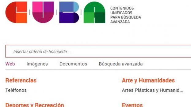 El buscador CUBA se puede encontrar en redcuba.cu